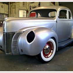 Ford 1940 Coupe Licensed Body