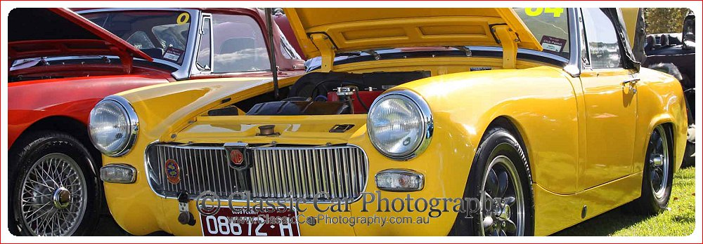 MG Midget at Flemington