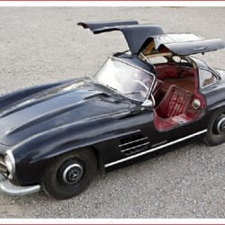 Unrestored Mercedes Gullwing at Goodings & Co Auction