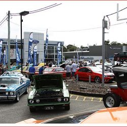 Plenty of Fords at the Total Performance Car Show at Maroochydore